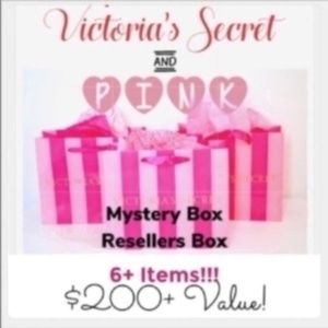 New VS Pink & Victoria's Secret Mystery Box